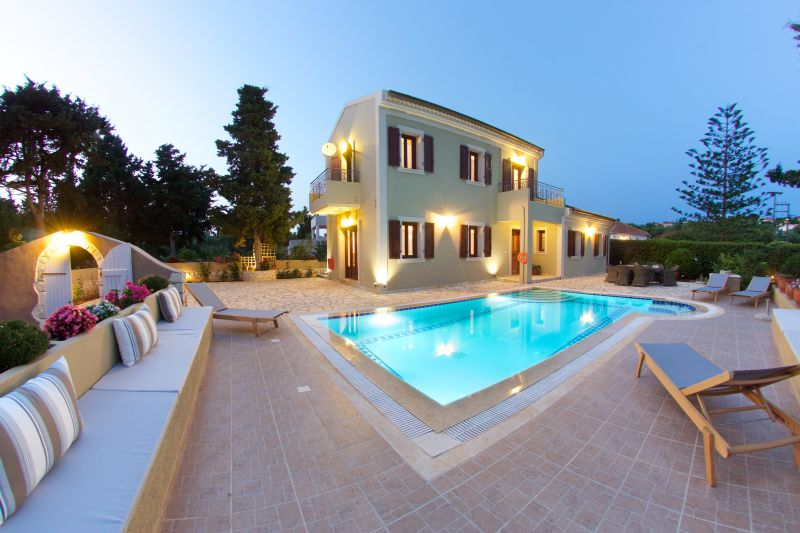 Villa's Evening View